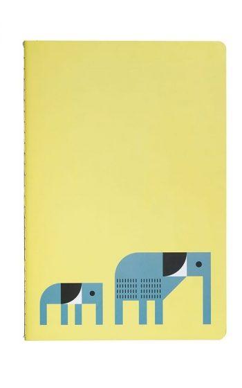 Notebook Elephant & Penguin