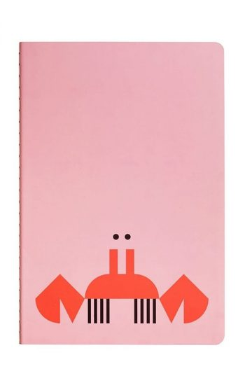 Notebook Crab & Giraffe