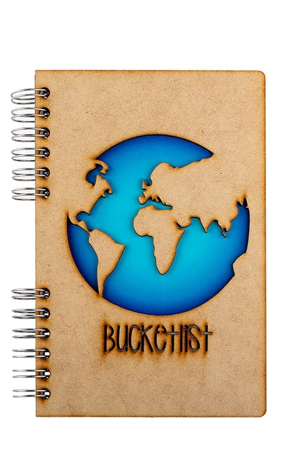 Notebook Bucketlist from Het Faire Oosten