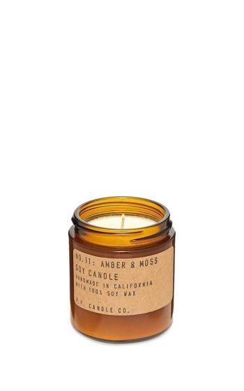 Candle No.11 Amber & Moss Mini