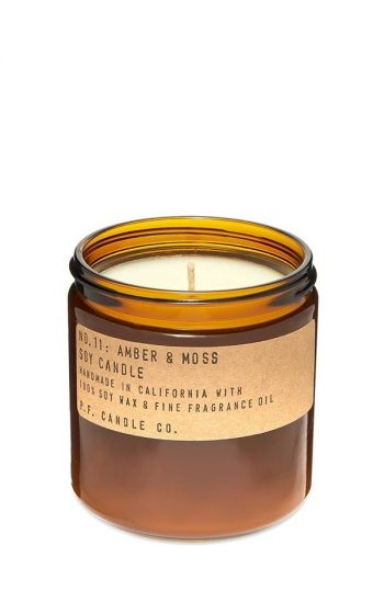 Candle No.11 Amber & Moss Large