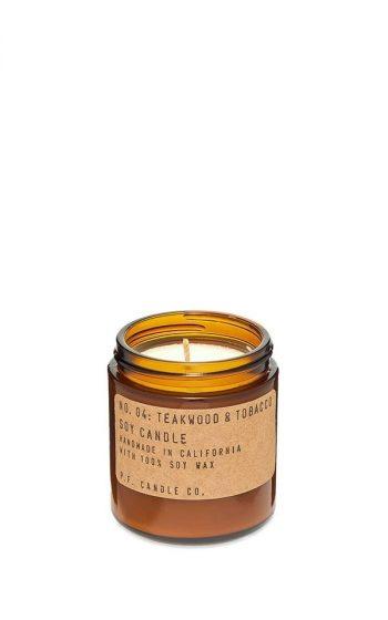 Candle No.4 Teakwood Mini