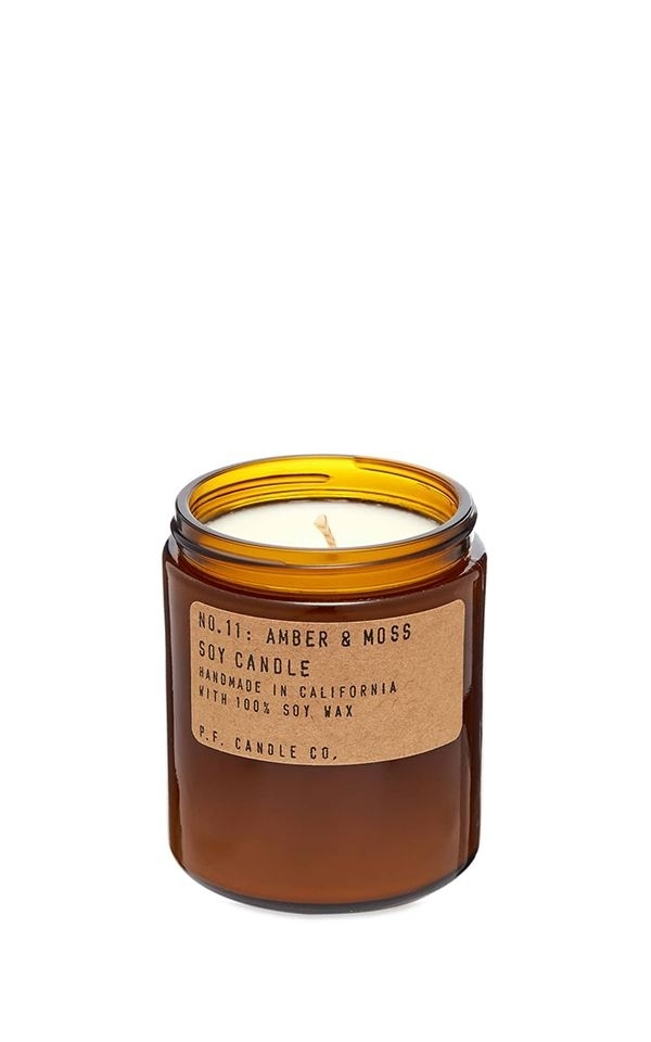 Candle No.11 Amber & Moss from Het Faire Oosten