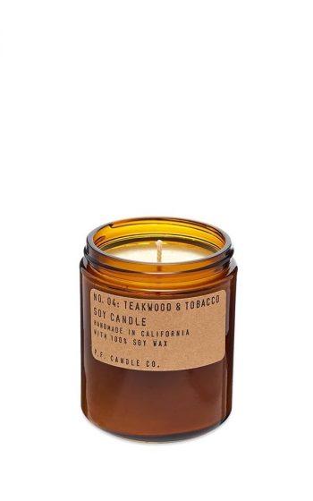 Candle No.4 Teakwood & Tobacco