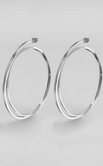 Earrings Pressed L