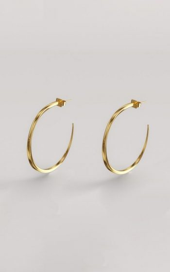 Earrings Pressed M