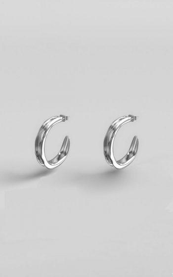 Earrings Shaped S