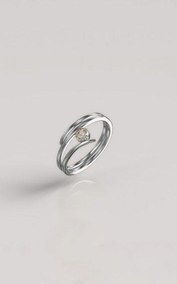 Ring Pressed 1 Stone