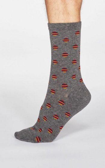 Socks Grayson Spot Stripe