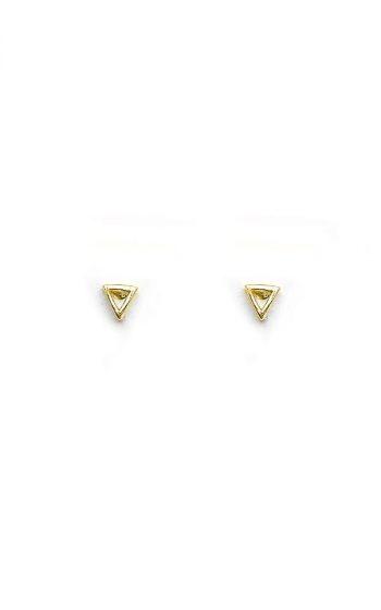 Earrings Studs Triangle