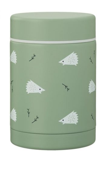 Food Jar Thermos - Hedgehog