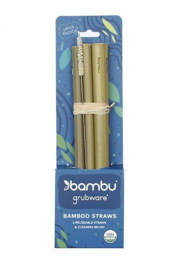 Straws Bamboo