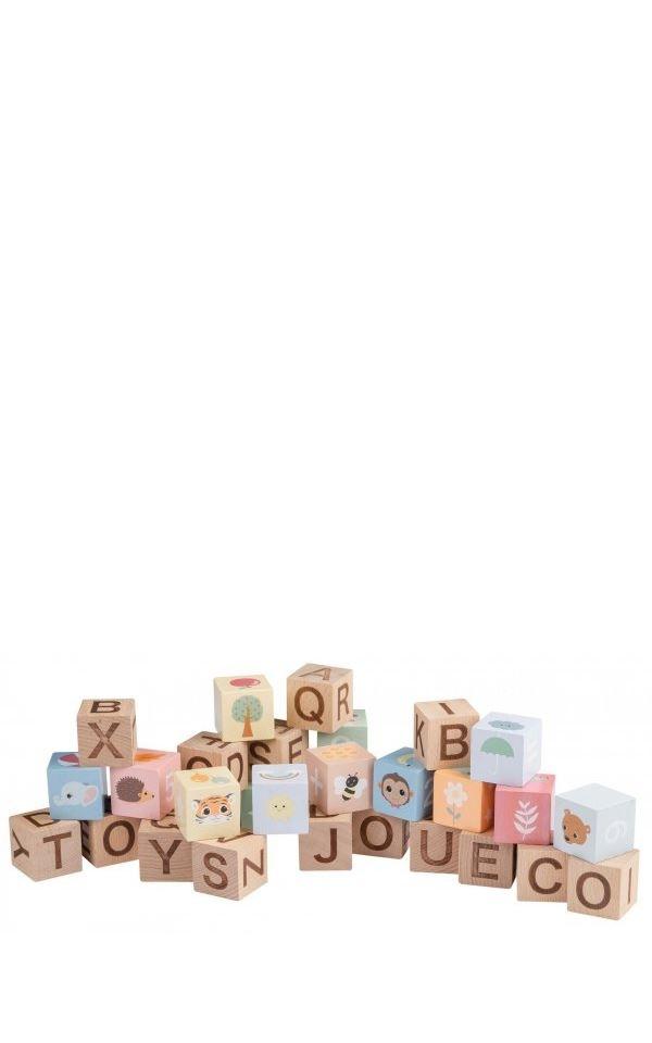 Alphabet Blocks from Het Faire Oosten