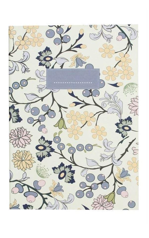 Notebook Pastel Flowers from Het Faire Oosten