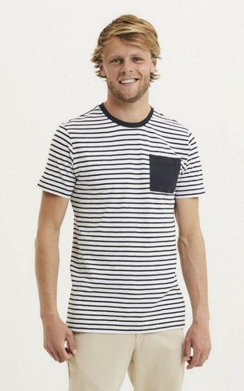 T-Shirt Alder Slub Striped