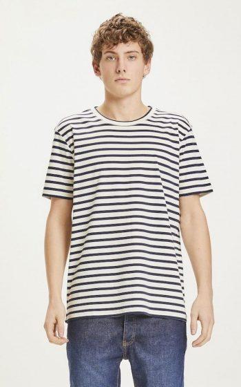 T-Shirt Alder Striped Interlock