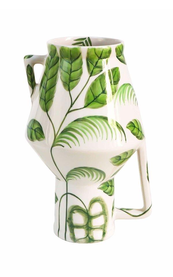 Vase Handpainted Jungle M from Het Faire Oosten
