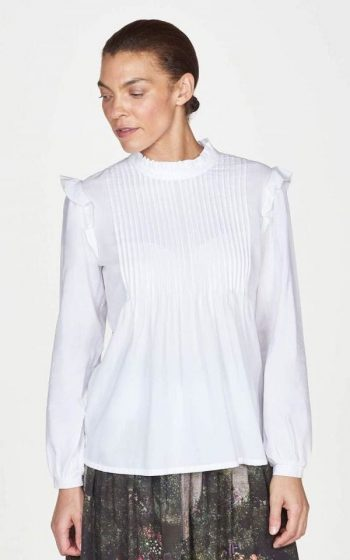Blouse Gertie Pleated