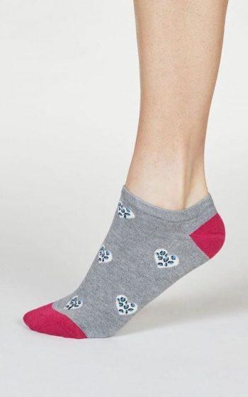 Socks Lily Leopard Heart