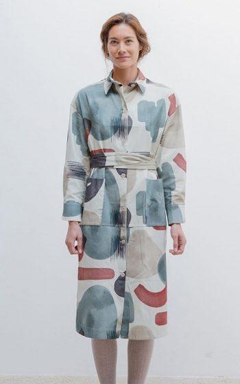 Dress Shirt Yuna Print