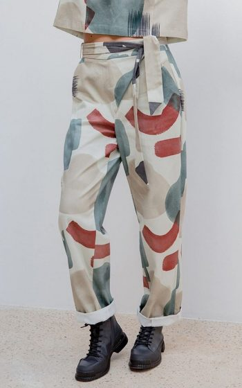 Pants Eden Print