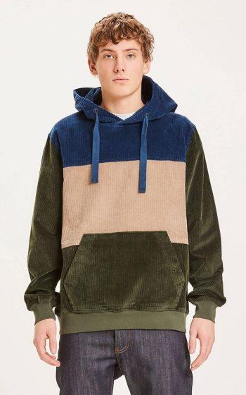 Sweater Elm Colorblock Corduroy