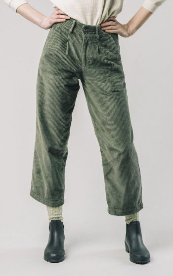 Pants Pleated Corduroy