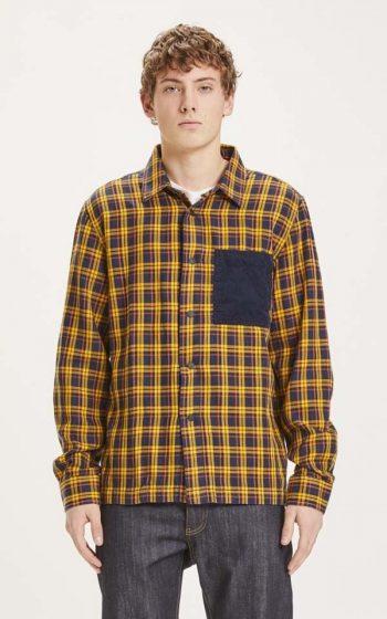 Overshirt Pine Fine Checked